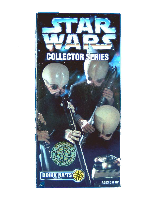 "1997 Star Wars POTF2 12"" CANTINA BAND DOIKK NA' TS Sealed"